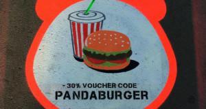გამოიყენე კოდი PANDABURGER, მიიღე 30 პროცენტიანი ფასდაკლება