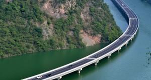 მდინარეზე აშენებული მაგისტრალით ტყის მასივები გაკაფვას გადაურჩა