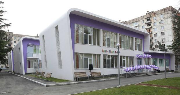 თბილისში 500 ბავშვზე გათვლილი ახალი ბაღი გაიხსნა