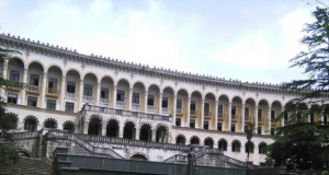 """წყალტუბოში ყოფილ სანატორიუმ """"ივერიას"""" ადგილას ახალ, 160 ნომრიან სასტუმროს კომპანია """"ჯეო მონტე გრუპი"""" ააშენებს"""
