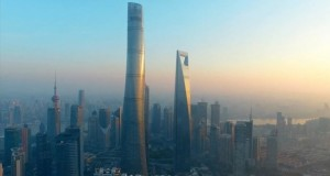 შანჰაიში მსოფლიოს მეორე უმაღლესი ცათამბჯენი აშენდა