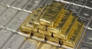 ვერცხლის ფასი იმატებს, ოქროს ფასი იკლებს