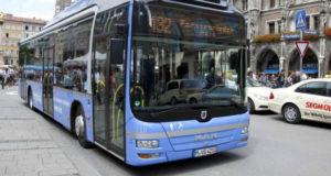 სექტემბრიდან თბილისში ლურჯი ფერის ავტობუსები ივლის