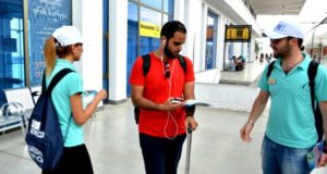 რკინიგზის სადგურებში ტურისტებს ახალი სერვისი ხვდება