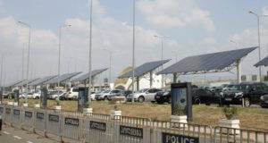 თბილისის აეროპორტში მზის ენერგიის პანელები დამონტაჟდა