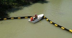 მდინარეებზე ნარჩენების დამჭერი მოწყობილობების დამონტაჟება დაიწყო