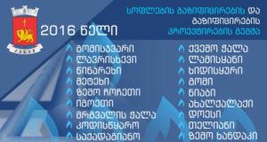 კასპის მუნიციპალიტეტის 18 სოფლის გაზიფიცირება იგეგმება