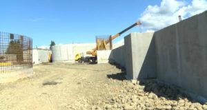 ქობულეთში გამწმენდი ნაგებობის მშენებლობა მიმდინარეობს