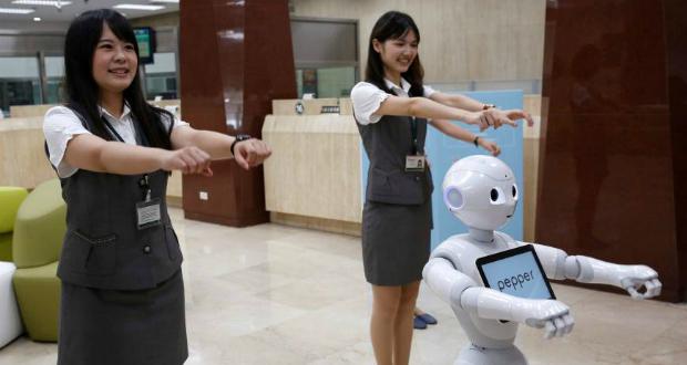 ტაივანურმა ბანკმა სამსახურში რობოტები დაიქირავა