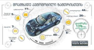 """""""თეგეტა მოტორსის"""" ახალი შეთავაზება ავტომფლობელთათვის - მოამზადე ავტომობილი ზამთრისთვის"""