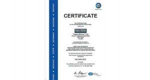 """""""თეგეტა მოტორსმა"""" ISO 9001: 2015 ხარისხის მართვის საერთაშორისო სერთიფიკატი მიიღო"""