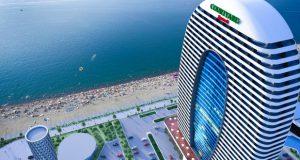 ბათუმში სასტუმრო Courtyard Marriott-ის მშენელობა წლის ბოლოს დასრულდება