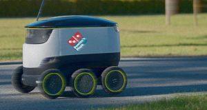 Domino's Pizza სახლში მიტანის სერვისზე რობოტებს გამოიყენებს