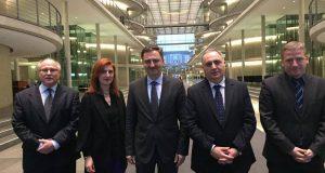 ირაკლი კოვზანაძე გერმანიის ბუნდესტაგის საფინანსო კომიტეტის თავმჯდომარეს ინგრიდ არნდტ-ბრაუერს შეხვდა
