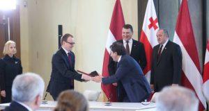 ICT ტექნოლოგიების გამოყენებაზე საქართველოსა და ლატვიას შორის თანამშრომლობის მემორანდუმი გაფორმდა