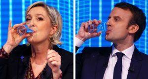 საფრანგეთის პრეზიდენტობისთვის მაკრონი და ლე პენი იბრძოლებენ