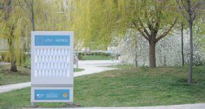"""დედაქალაქის ქუჩებსა და პარკებში უფასო ელექტრონული წიგნები """"საბასგან"""" უკვე ხელმისაწვდომია"""