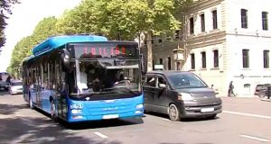 პეკინის ქუჩის რეაბილიტაციასთან დაკავშირებით ავტობუსების მარშრუტები იცვლება