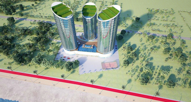 """კვარიათში ახალი სასტუმრო კომპლექსი """"თვინ თაუერსი"""" აშენდება"""
