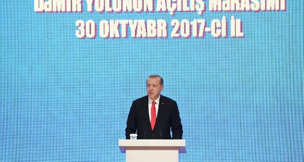 """""""ბაქო-თბილისი-ყარსის პროექტი აერთიანებს არა მხოლოდ აზერბაიჯანს, საქართველოსა და თურქეთს, არამედ ევროპასა და აზიას"""""""