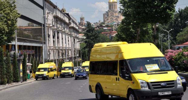 თბილისში, 14 ქუჩაზე მიკროავტობუსები და სამარშრუტო ტაქსები მხოლოდ გაჩერებებზე გაჩერდებიან