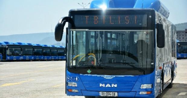 გაჩერების დასახელების გამოცხადების სისტემა ავტობუსებშიც დამონტაჟდება