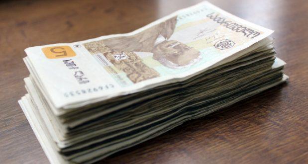თანხის ოდენობა, რომელსაც ყოველთვიურად გადაიხდის მსესხებელი შემოსავლის მიხედვით