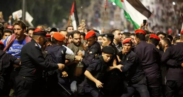 """ახალი """"ხანძარი"""" სირიის საზღვართან: იორდანია ცხელ წერტილად ყალიბდება"""