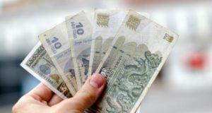 თვიური საშუალო ნომინალური ხელფასი გასულ წელთან შედარებით 6.3%-ით გაიზარდა და 999.1 ლარი შეადგინა