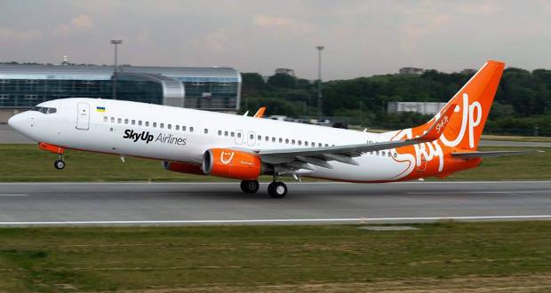 """უკრაინული ავიაკომპანია """"SkyUp"""" საქართველოს მიმართულებით ფრენებს იწყებს"""