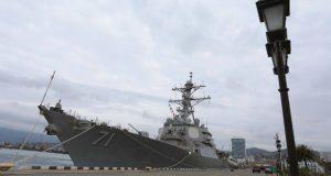 შავ ზღვაში ამერიკულ გემს 2 რუსული სამხედრო გემი დაედევნა