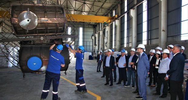 """კომპანია """"ნოვამ"""" თიბისის და EBRD-ის მხარდაჭრით ახალ საწარმო გახსნა"""