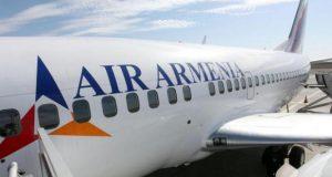 სომხური ავიაკომპანიაArmenia საქართველოს ტურიზმის ხელშეწყობის მიზნითტრანზიტულ ფრენებს განახორციელებს