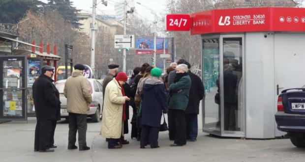 ლიბერთი ბანკის მოვალე 417 ათასი პენსიონერი