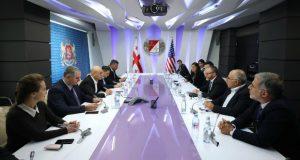 ფინანსთა მინისტრი ივანე მაჭავარიანი აშშ-ის წამყვანი საინვესტიციო ფონდების ხელმძღვანელებს შეხვდა
