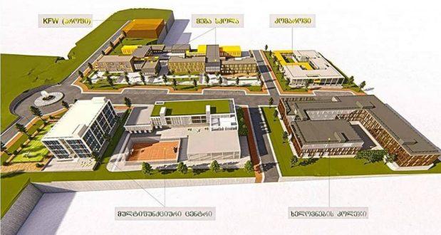 თბილისსა და ბათუმში კომაროვის სკოლის 2 ფილიალის მშენებლობა იწყება